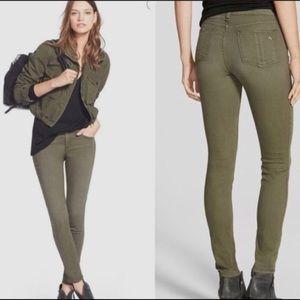 Rag & Bone Skinny Jeans In Fatigue Green